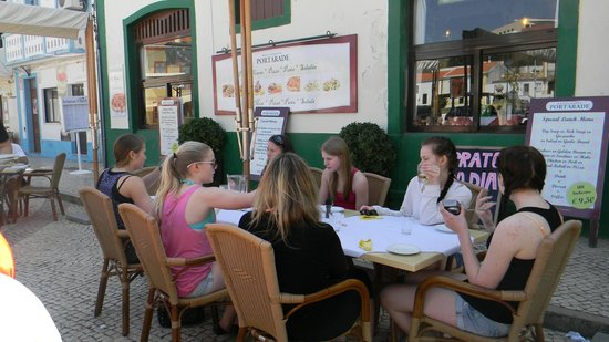 Restaurante Portarade: lunch time