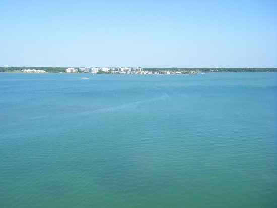 Clearwater Beach Marriott Suites on Sand Key: view of bay area from balcony