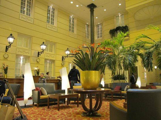 Polonia Palace Hotel: Это receiption