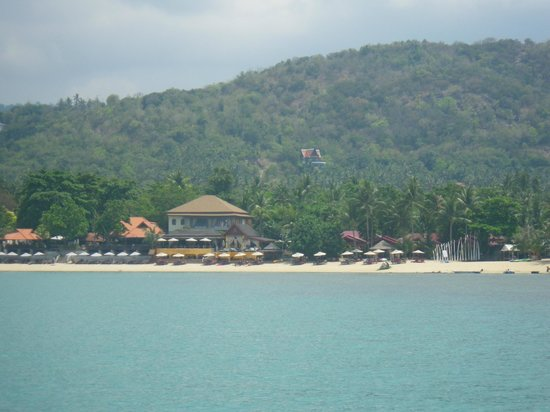 Zazen Boutique Resort & Spa: View from the sea
