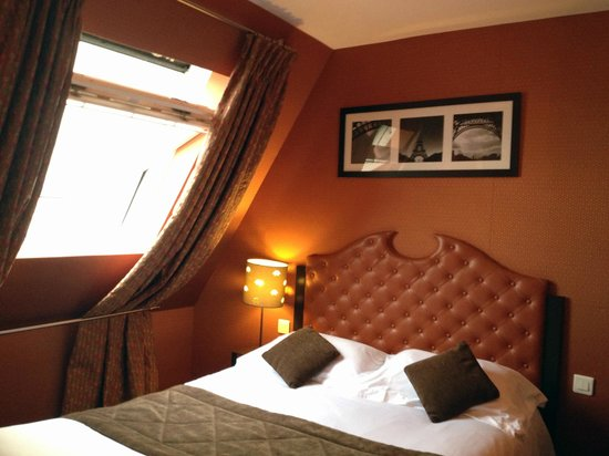 Hotel du Prince Eugene: Camera ultimo piano