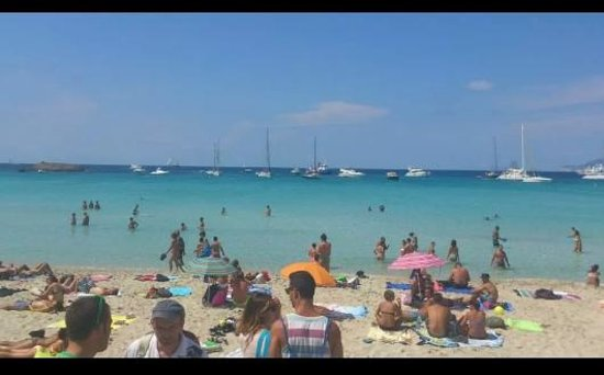 Strand Playa de ses Illetes: mare
