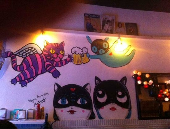 Cat Bar : interno