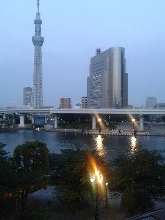 Dormy Inn Express Asakusa: View from my balcony.
