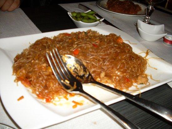 Paradiso D'Oriente: Spaghetti di soia saltati con verdure