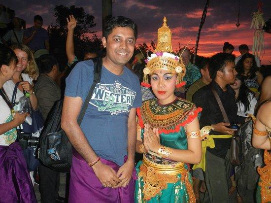 Grand Hyatt Bali: Kecak Dance organised by Hyatt Bali