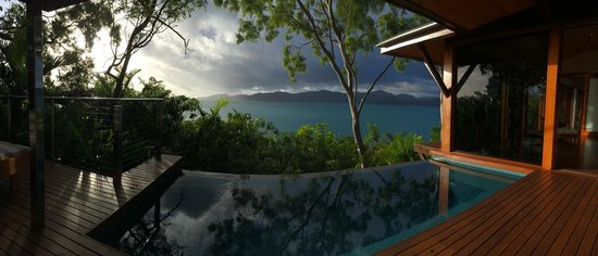 Qualia Resort: Our beautiful pavilion!