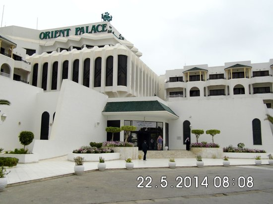 Orient Palace Hotel: not a 5 star hotel