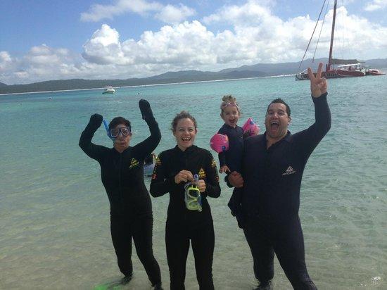 Cruise Whitsundays: Us Snorkeling
