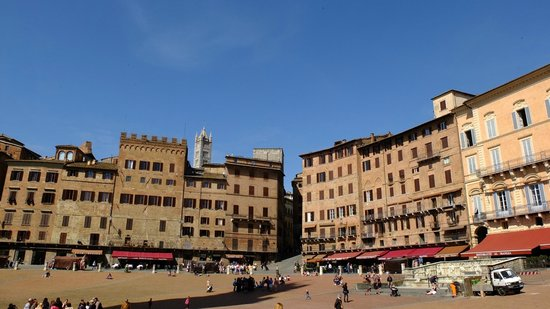 Walkabout Florence Tours : The main piazza in Siena