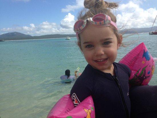 Cruise Whitsundays: Fun day out for Eden