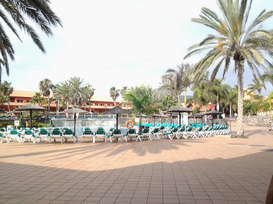 Oasis Village: sat eating breakfast looking at the lovely view xx