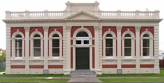 The 100-year-old Carnegie Library Building is now The Treasury Building