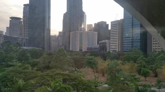 Somerset Olympia Makati: The view from my apartment