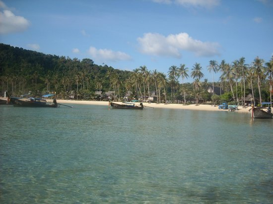 Phi Phi Island Village Beach Resort : Llegada