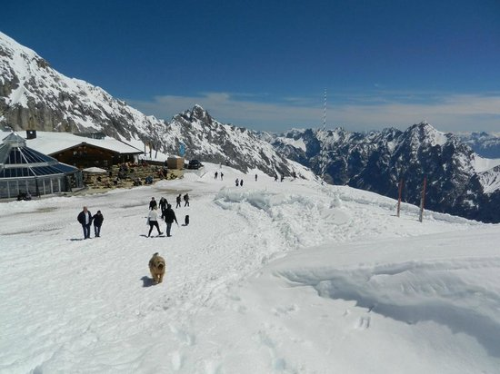 Zugspitze: Top of Cog Railway Area