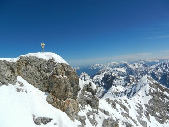 Zugspitze: The Summit