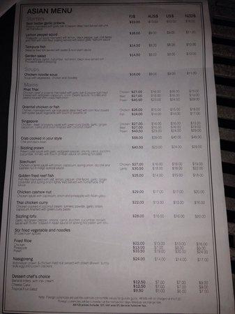 Indigo Indian Asian Restaurant: Menu p5