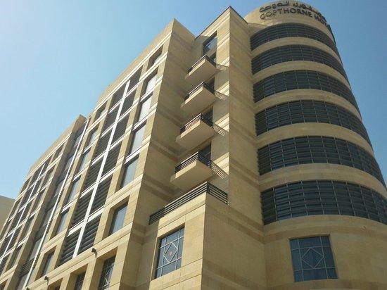 Copthorne Hotel Doha: The Hotel Exterior