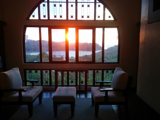 The Manor at Puerto Galera: view from the shared area
