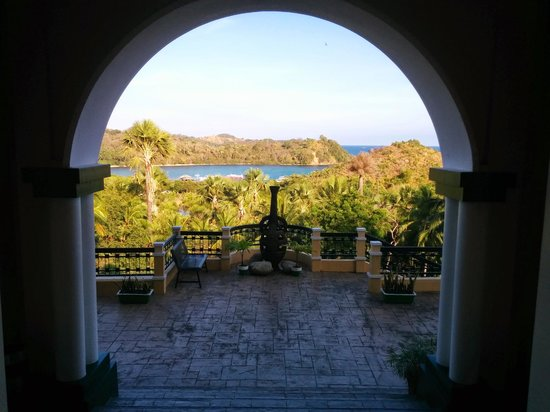 The Manor at Puerto Galera: view from the reception