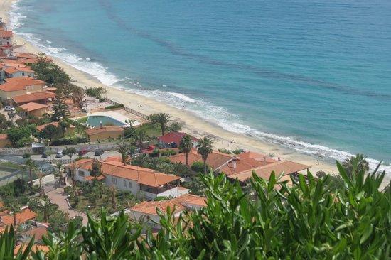 Hotel Residence Sciaron: Utsikt från terrassen