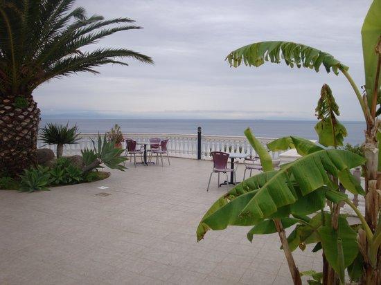 Hotel Residence Sciaron: Terrassen