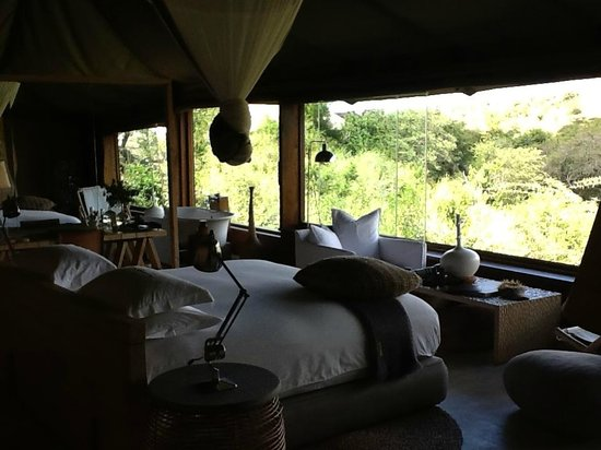 Singita Faru Faru Lodge: View from room 5