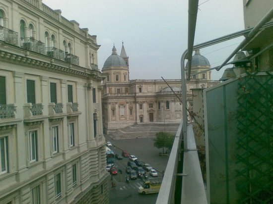 Hotel Commodore Roma: From the top floor balcony