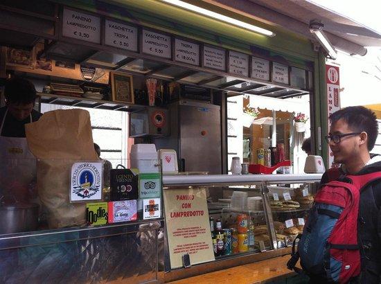 Trippaio del Porcellino : The stand overview
