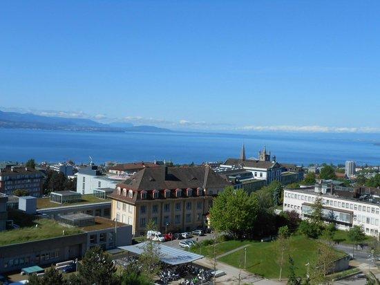 Sauvabelin Tower: Vue sur Lausanne