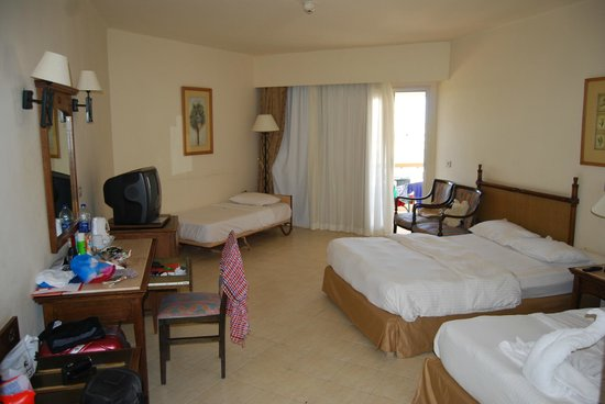Aurora Oriental Resort Sharm El Sheikh: наша комната
