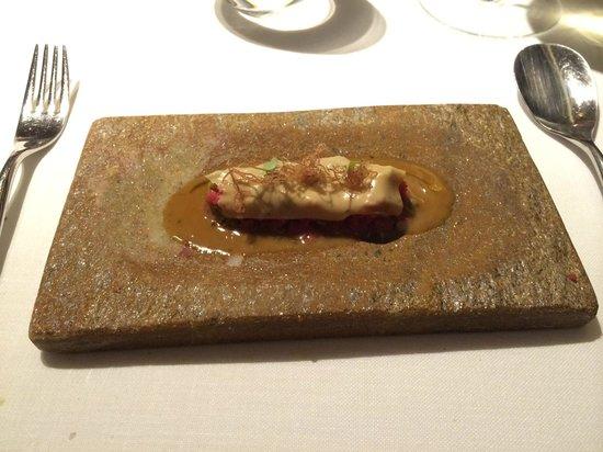 ABaC Restaurant : Bistec tártaro ahumado