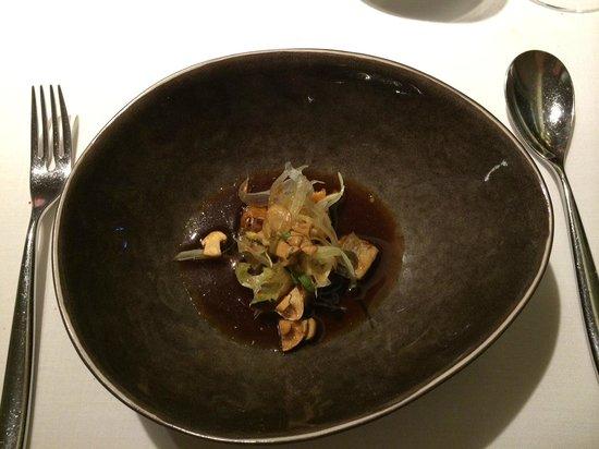 ABaC Restaurant : Tsukudani Thai de anguila