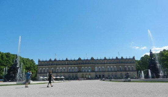 Schloss Herrenchiemsee: Palace View