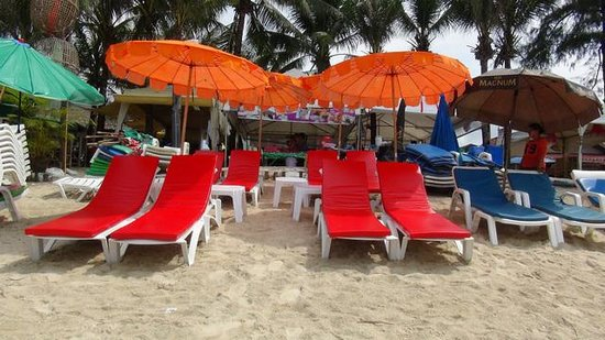 Lillo Island Resort: Beach Front