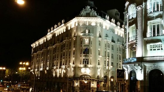 The Westin Palace Madrid : Front of Hotel