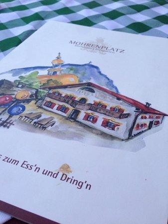 Mohrenplatz Wirtshaus & Schmankerlmarkt: Menu