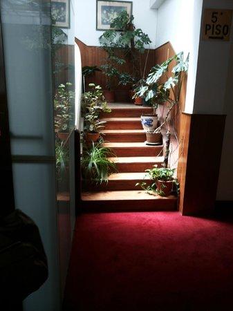 Hotel Peninsular : La scala di accesso al famigerato quinto piano