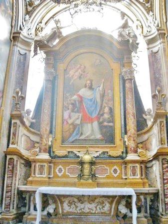San Luigi dei Francesi: Interno