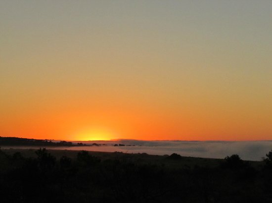 Kariega Game Reserve - Main Lodge: Glorious sunrise