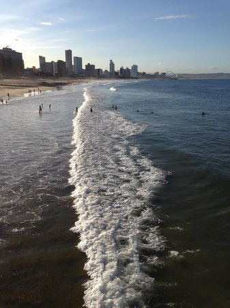 Golden Mile: Looking North from Moyo Pier