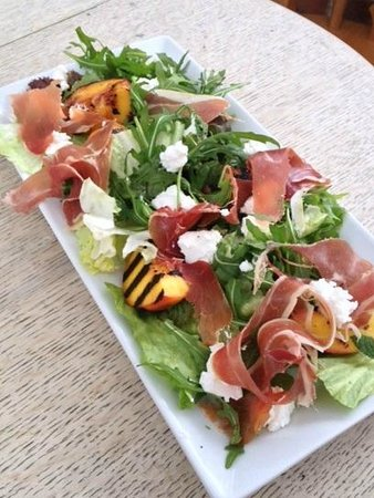 The Hothouse Cafe: Parma Ham, Ricotta and Nectarine Salad