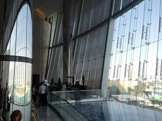 Jumeirah at Etihad Towers: اللوبي
