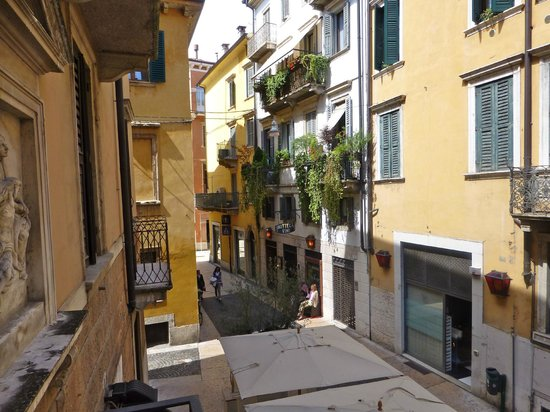 Accademia Hotel : View from room 128 balcony