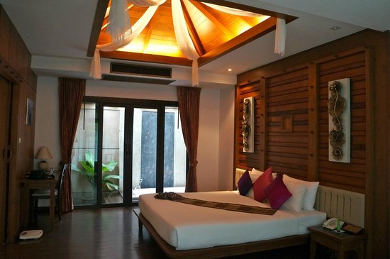 Railay Village Resort: dormitorio