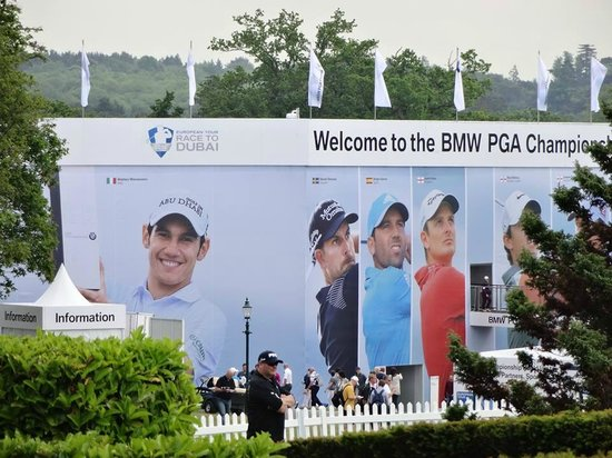 Virginia Water, UK: BMW PGA Championships 2014