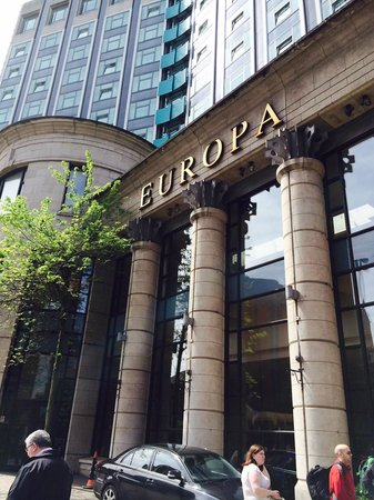Europa Hotel - Belfast: The famous Europa