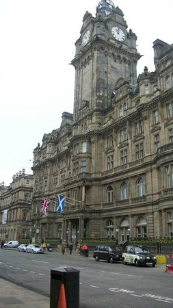 The Balmoral Hotel : the hotel