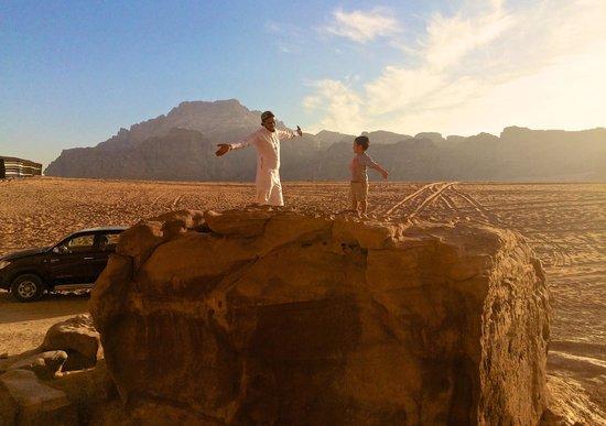 Obeid's Bedouin Life Camp : Kings of the Rock